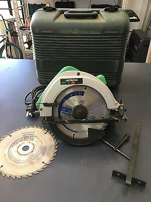Hitachi C 7SE 1080W 190mm Circular Saw in Case with Spare Blade