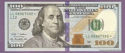 USA US 100 Dollars STAR REPLACEMENT Banknote 2009 Choice UNC  1137