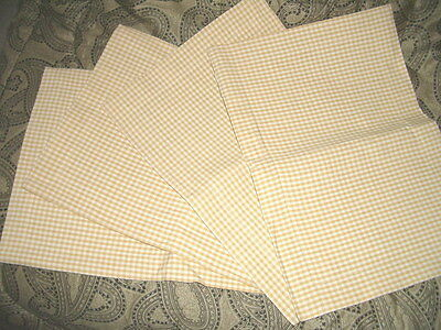 Kitchen Country theme 'Market Square' table dinner placement mats - New set of 4