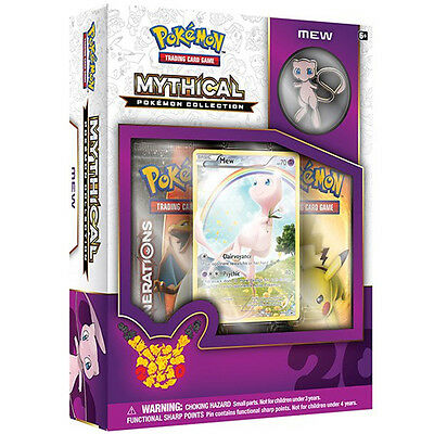 Pokemon Mythical Collection MEW Pin Box 20th Anniversary Limited Edition *NEW!*