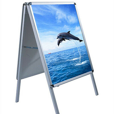 A2 Board Pavement Sign Poster Frame Double Side Sign Display Stands