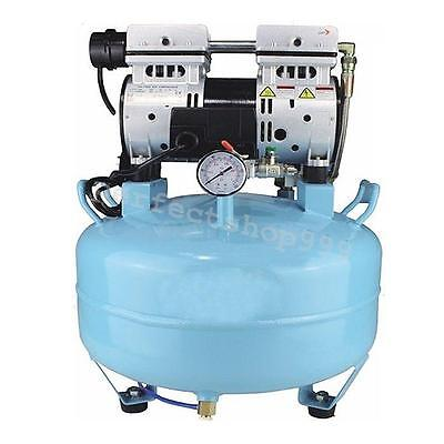 30L Medical Noiseless Oil Free Oilless Air Compressor F Dental Chair US SHIP CE