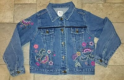 Girls Next Denim Jacket Age 7/8 Yrs