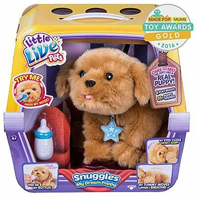 Little Live Pets Snuggles My Dream Puppy, Interactive Toy, New, Ready to Post