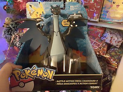 "Pokèmon Mega Charizard X Battle Attack 7"" collectable Action Figure OFFICIAL UK"