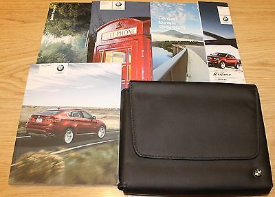 Bmw X6 Series E71 X5 E71 Handbook Owners Manual Wallet Bluetooth 2008–2012 T1757