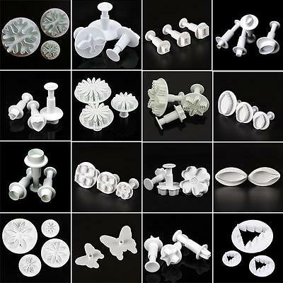 39Styles Cookie Biscuit Cutter DIY Sugarcraft Chocolate Decorating Plunger Mold