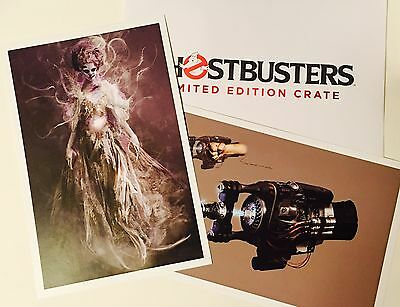 EXCLUSIVE Loot Crate Limited Edition Ghostbusters LootCrate Print Set!