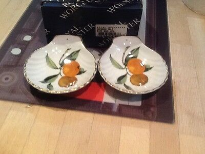3 Pieces Of Royal Worcester Evesham