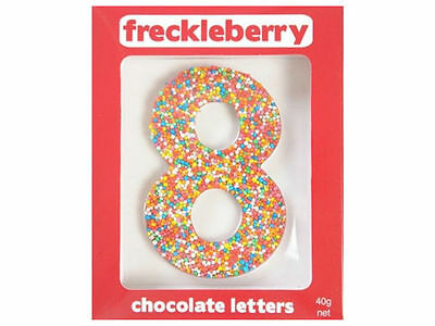 Number 8 Chocolate Freckle Number New Great Unique Gift Present Birthday