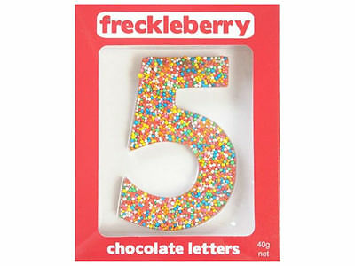 Number 5 Chocolate Freckle Number New Great Unique Gift Present Birthday