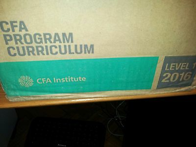 2017 CFA Level 2 Official Currilum (the whole package never used)