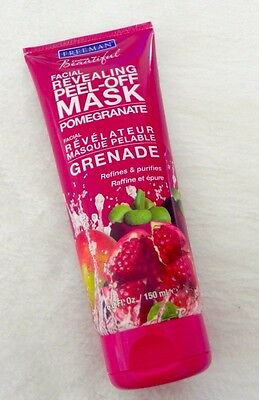 FREEMAN Peel Off Citrus Face Mask Pomegranate Purifies and Refines Skin 150 ml
