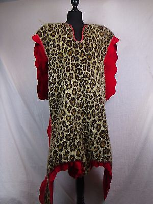 Leopard skin drummers tunic, with head, King's own Scottish Borderer's (KOSB)