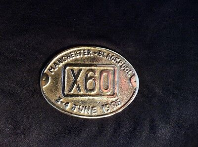 Manchester X60 Bus Service Badge