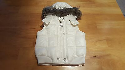 GEORGE Girls Clothes Padded Gilet / Bodywarmer Jacket Age 5-6 Years
