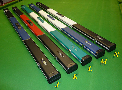 "1pc Halo Arrow Snooker Cue cases by Peradon - Holds 2 x 1pc cues to 59.5"" *NEW*"