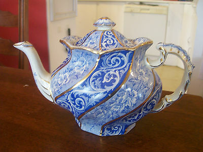 REALLY  LOVELY  LEIGH and BURGESS  TEAPOT   EARLY 1900's  VERY  NICE  CONDITION