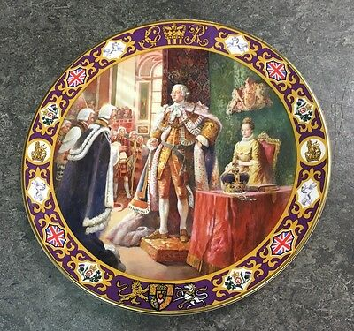 Royal Doulton Limited Edition Collector's Gallery King George III Plate