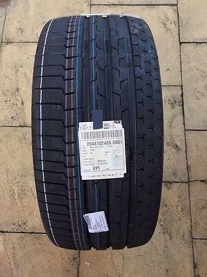 1x Continental Sport Contact 6 - 245/35 R19 93Y XL - Tyre Only