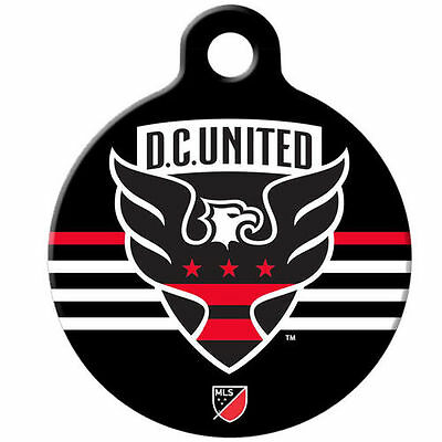 D.C. United Double-Sided Dog Tag