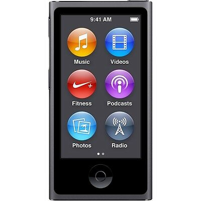Apple iPod nano 7th Generation Space Grey (16GB) (Latest Model) Brand New Sealed