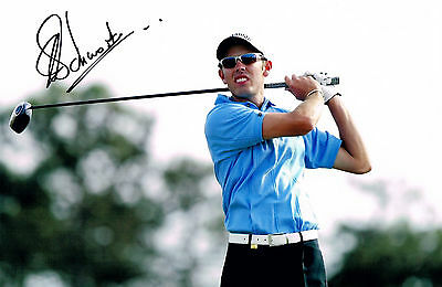 CHARL SCHWARTZEL GOLF HAND SIGNED PHOTO AUTHENTIC GENUINE + COA - 12x8