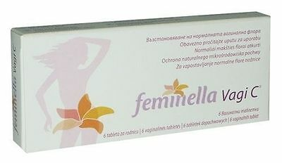 FEMINELLA VAGI C* Prevention and Treatment of Bacterial Vaginosis 250 mg* 6 tabs