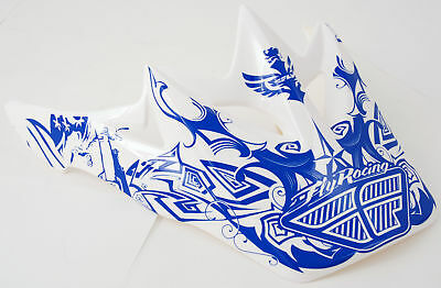 FLY RACING Peak Chaos  – Blue/White