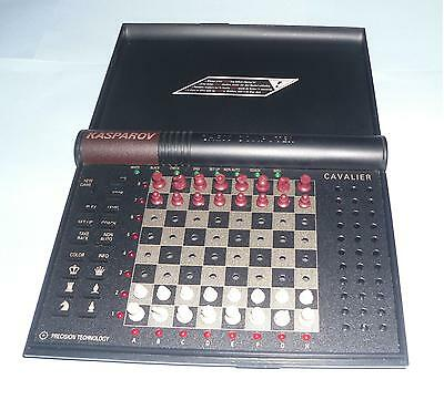 ideal gift Kasparov Cavalier electronic Chess Computer by Saitek