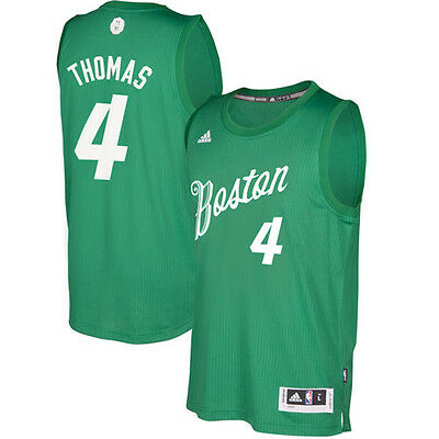 2016~2017 Christmas Edition Boston Celtics #4 Isaiah Thomas Basketball Jersey
