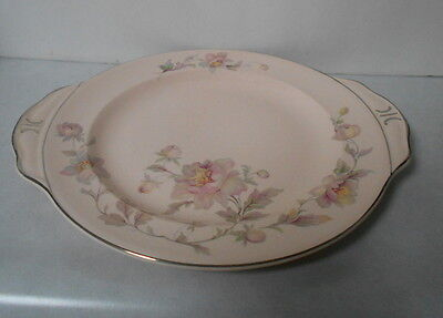 Limoges Peach Blo Cake Plate May Time 4Z155