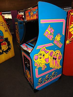 Ms PacMan Arcade Game    *****  FREE SHIPPING