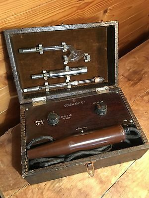 Vintage Rare Ediswan E Violet Ray Machine - Electrotherapy/Fetish? - Antique Med
