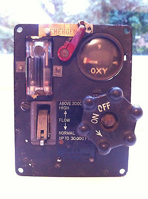 RAF MK 16 B Oxygen Regulator Aircraft Instrument