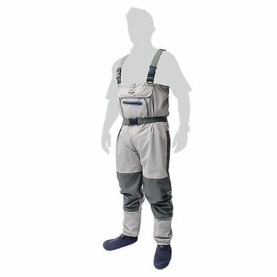 Leeda Volare Stocking Foot Breathable Chest Waders