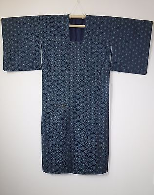 Authentic Japanese blue amagoto rain coat, imported from Japan (K718)