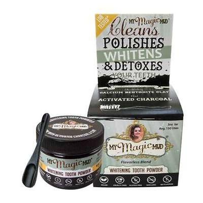 My Magic Mud Whitening Detoxifying Tooth Powder With Activated Charcoal 85g