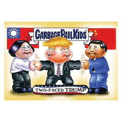 2016 garbage pail kids disgrace to the white house 95-98