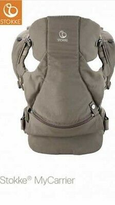 Stokke My Carrier The Organic 3 In 1 Baby Carrier Excellent Condition