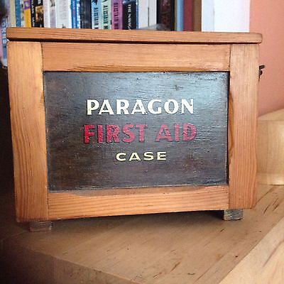 Paragon First Aid Wooden Box
