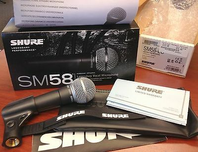 Shure SM58-LC Cardioid Professional Microphone 03