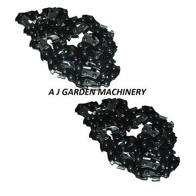 "2 x 18"" Saw Chains Fits Chinese Import 4500 & 5200 Chainsaw With .325 Chain"