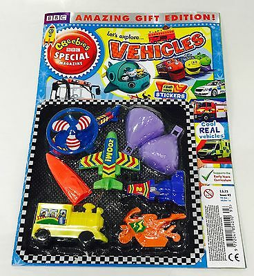 CBeebies Special Magazine #93 AMAZING GIFT EDITION! - VEHICLES (NEW)