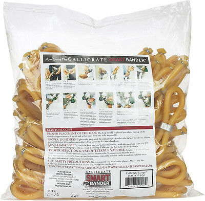 CALLICRATE BANDER LOOPS Humane Bloodless Castration Method Recommended 100ct