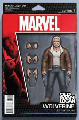 Old Man Logan Wolverine #1 Christopher Action Figure Variant Cover Marvel Comics