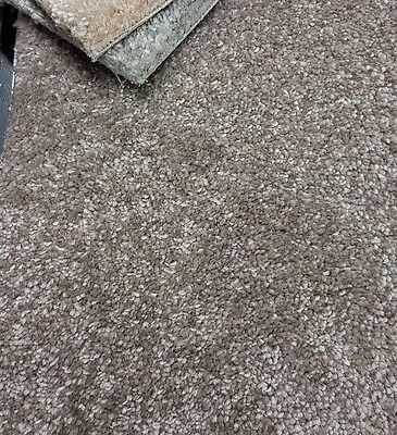 MINK 13-15mm THICK Saxony carpet £9.99sqm *SOFT TOUCH* *FREE DELIVERY