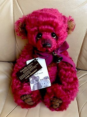 Charlie Bear Pernickety Isabelle Collection Mohair SJ5460