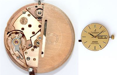 OMEGA CONSTELLATION original 1021 automatic watch movement working   (4437)