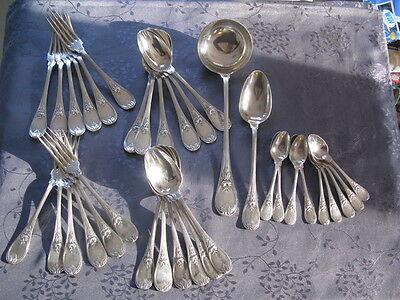 Christofle Trianon  Style Marie Antoinette Menagere 35 Pieces